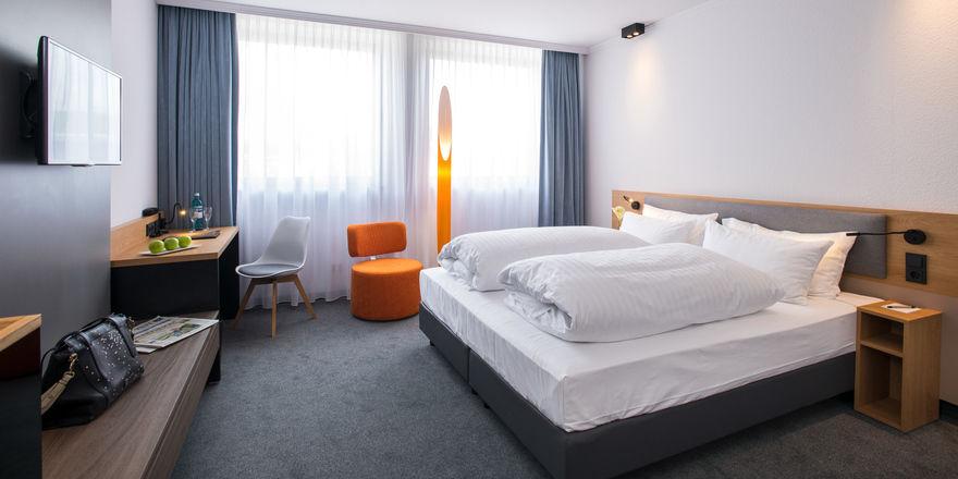 Zuhause auf Zeit: Zimmer im Fleming's Express Hotel Frankfurt