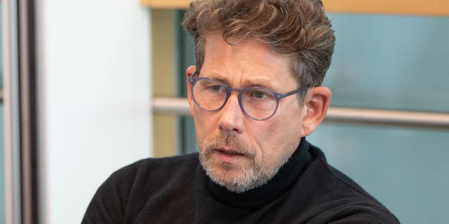 """Alexander Scharf: """"Im Kampf mit der prekären Lage erlebe ich zurzeit auch viele positive Dinge"""""""