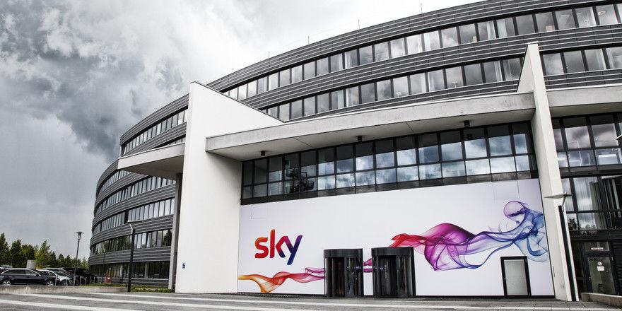 Will auf die Branche zugehen: Der Bezahlsender Sky