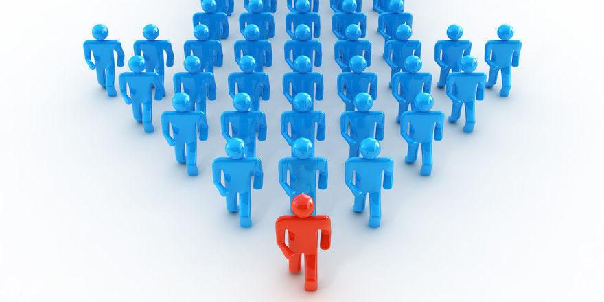Vorweg gehen: Gerade in der Krise wünschen sich viele Angestellte eine sichtbare Führungspersönlichkeit
