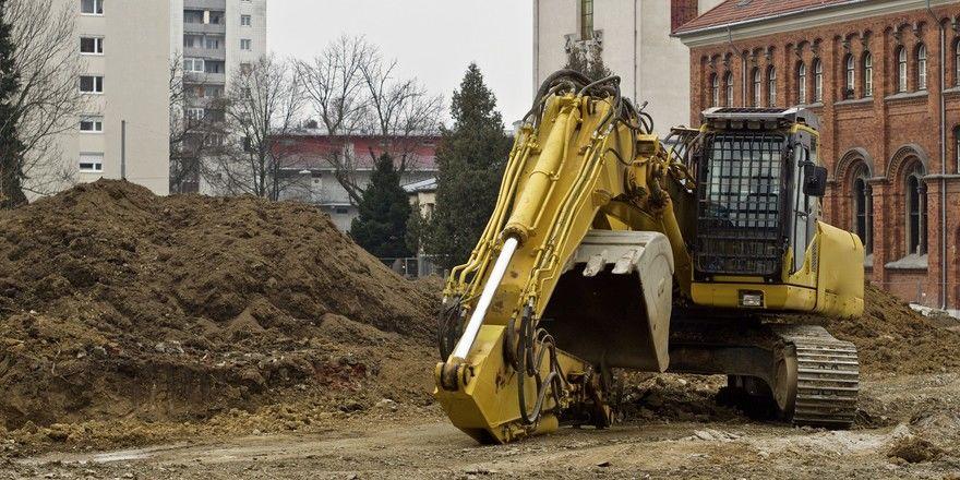 Plötzlicher Stillstand: Viele Baustellen sind durch Corona ins Stocken geraten