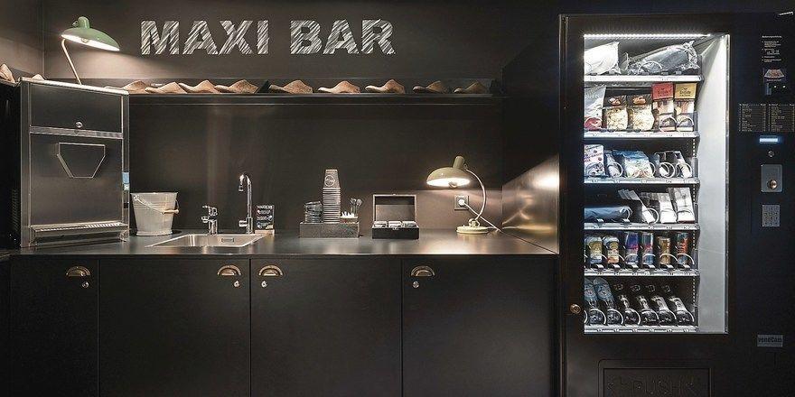 Übersichtlich: Maxi Bar im Ruby Coco Düsseldorf