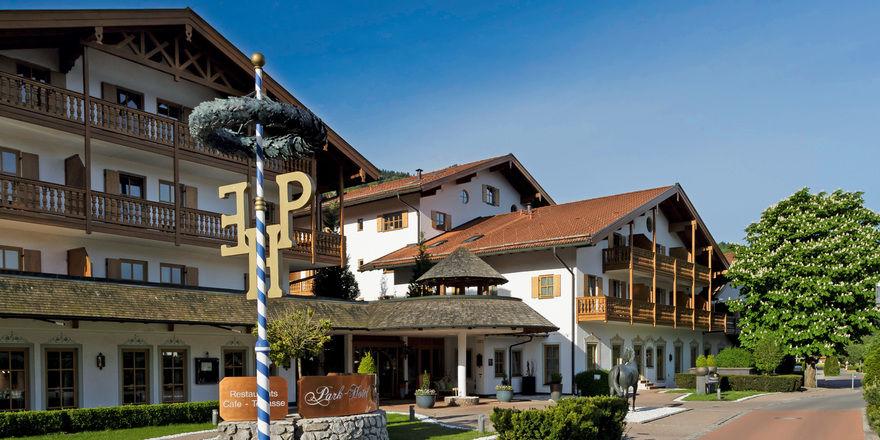 Schmuckstück: Das Park-Hotel Egerner Höfe