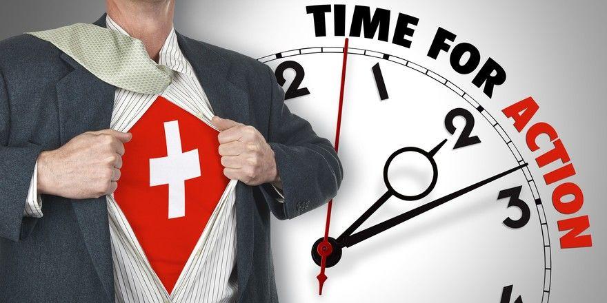 Zeit zum Handeln: In der Schweiz soll es bald viele Lockerungen geben