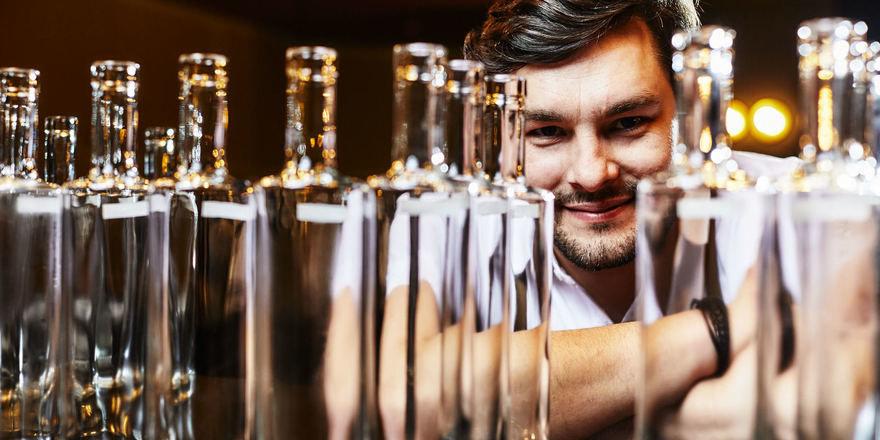 Setzt auf Drinks in Flaschen: Benji Blomenhofer