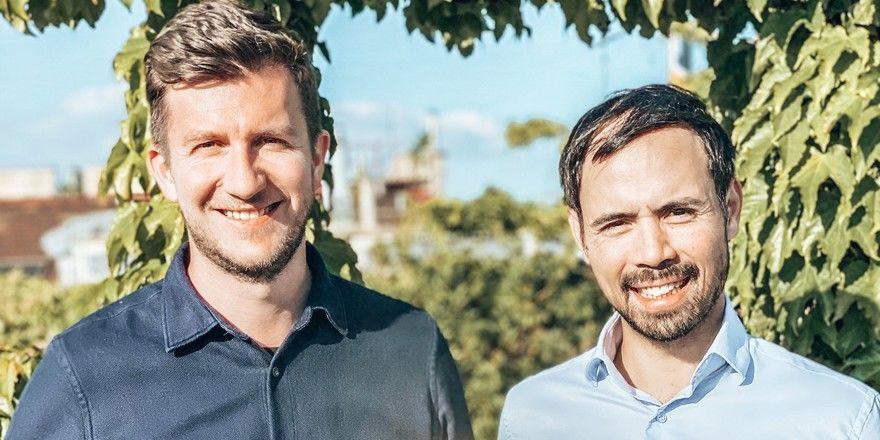 Die Präsidenten der umbenannten Kooperation: Peter Fetz und Philipp Patzel (rechts)