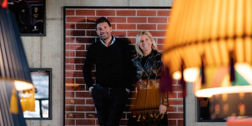 Setzen die Expansion fort: Die Geschwister Sabrina Gambino-Kreindl und Alessandro Gambino