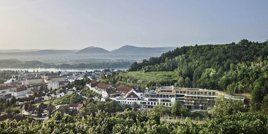 Empfängt wieder Gäste: Das Steigenberger Hotel in Krems.