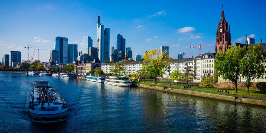 Neue Heimat: Die Fashion Week findet künftig in Frankfurt am Main statt und rückt die Metropole auch in Sachen Mode ins internationale Licht