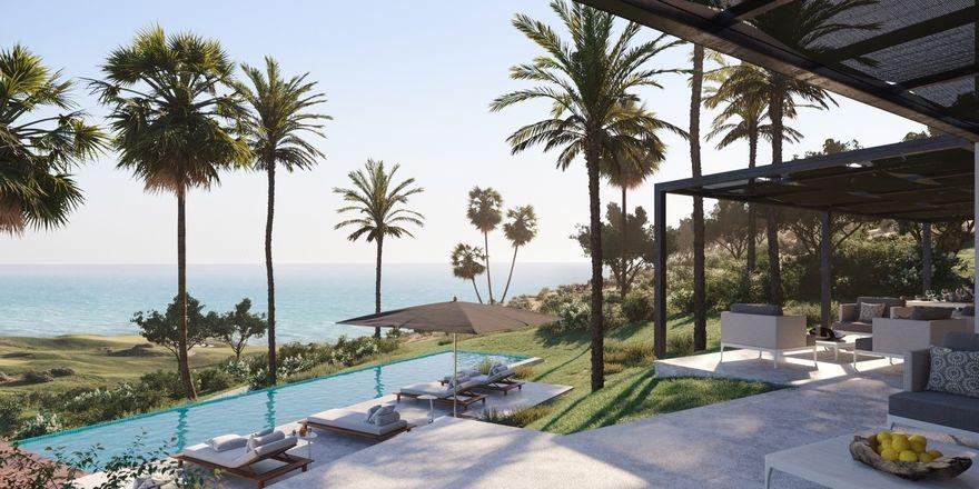 Traumkulisse: An der Südküste Siziliens wird Rocco Forte Hotels ab September Gäste in acht neuen Villen des Verdura Resorts empfangen.