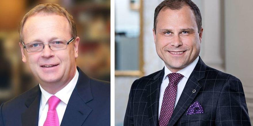 Neue Posten: Michael Kain (links) und Raoul Hoelzle