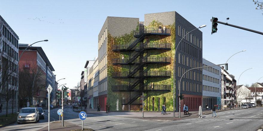So sieht es aus: Das neue Premier Inn in der Hansestadt Hamburg