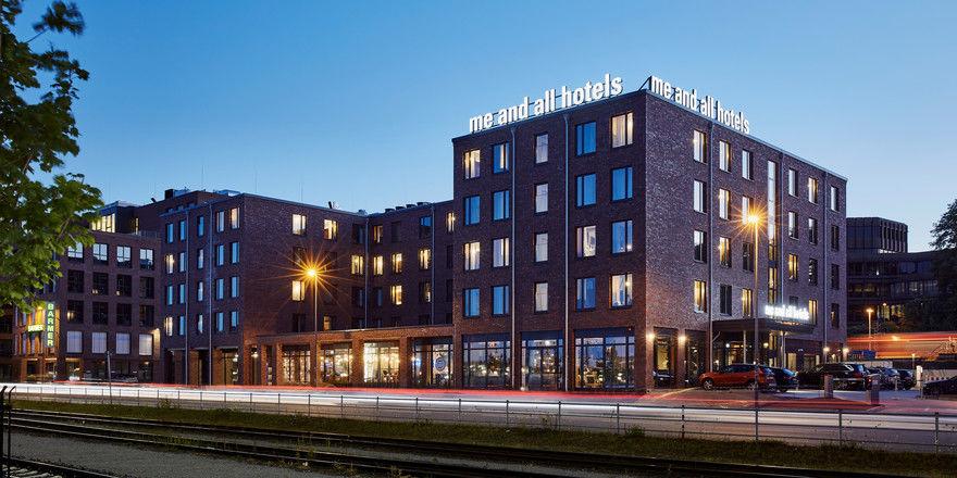 Neues Hotel an der Förde: me and all bringt 164 Zimmer nach Kiel