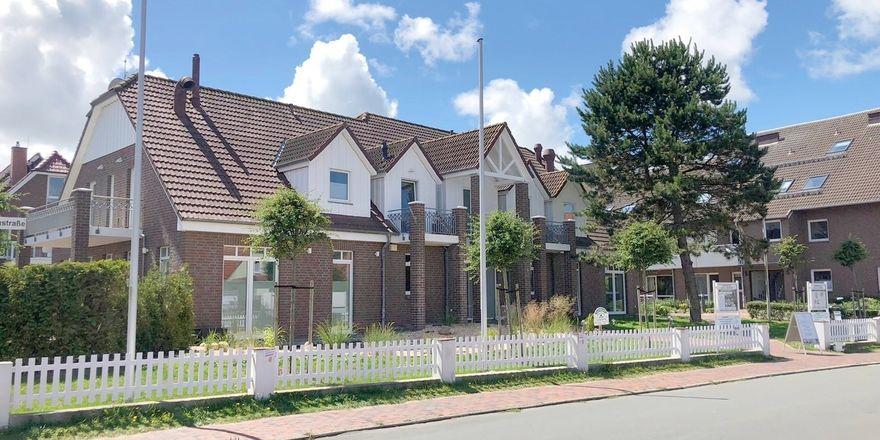 Typisch friesische Architektur: So präsentiert sich das Upstalsboom Hotel tom Brok