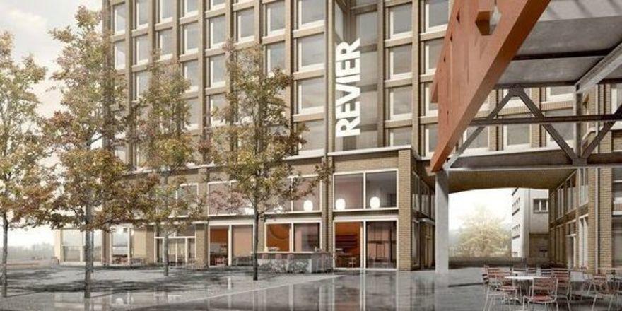 So soll es aussehen: Für das künftige Revier Rheinfall gab es bereits einen Architekturwettbewerb
