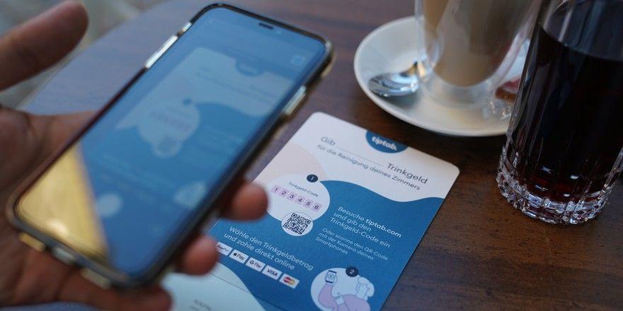 Trinkgeld fix per Handy überweisen: Das will tiptab möglich machen