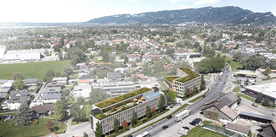 Besonderheit: Der Infinity-Pool auf dem Dach, hier ein Modell des ersten Hauses in Bregenz, soll ein Markenzeichen von Roots werden