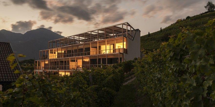 Mitten in den Weinbergen: Die Terrassen-Suiten des Haller Suites & Restaurant
