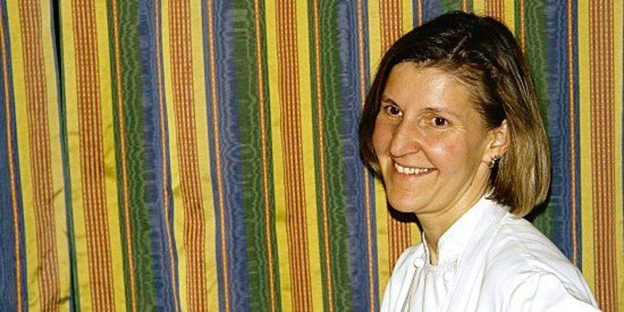 """Gut gelaunt und voller Tatendrang: <em>Barbara Schlachter, Spitzenköchin und Inhaberin vom Berghotel Schlossanger Alp<tbs Name=""""foto"""" Content=""""*un*gw.6,5""""/><em>"""
