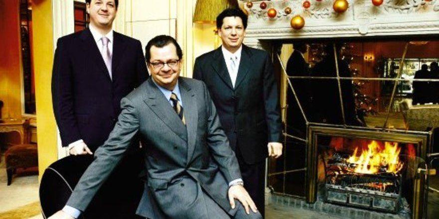 "Unverwechselbare Charaktere: <em>Michael, Carl und Stephan Geisel (von links) <tbs Name=\""foto\"" Content=\""*sm*un*gw.6,5\""/>"
