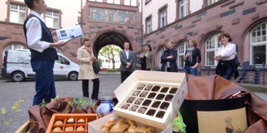 Süßes und Historisches: Das Schokolädchen bietet einen pikanten Stadtrundgang