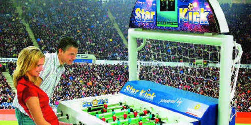 Aktuell zur EM: Bei diesem Fußballspaß bleiben die Trikots sauber