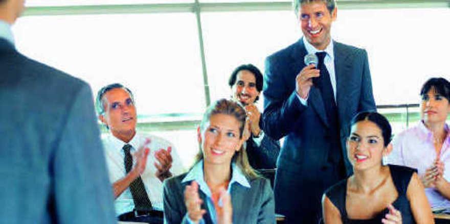 Impulsgeber: Ein Coach weiß, wie Mitarbeiter zu begeistern sind