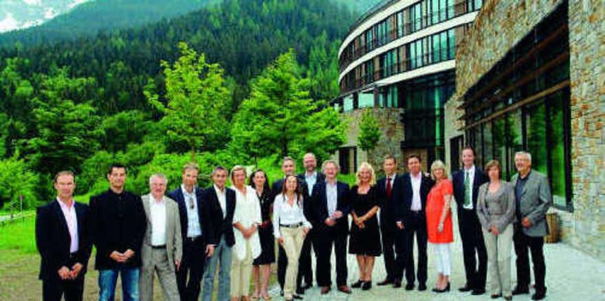 Treffen in Berchtesgaden: Die Sponsoren des Spa Director's Club