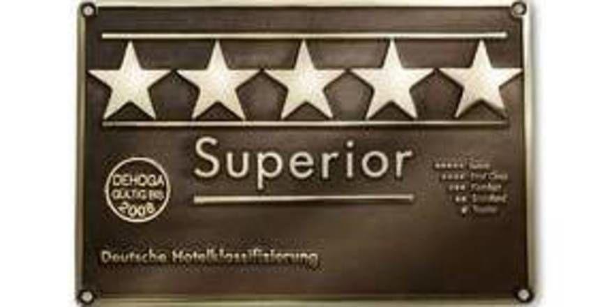 Prädikat für Qualität: Sterne vom deutschen Hotel- und Gaststättenverband. Foto bei travelcharme.com
