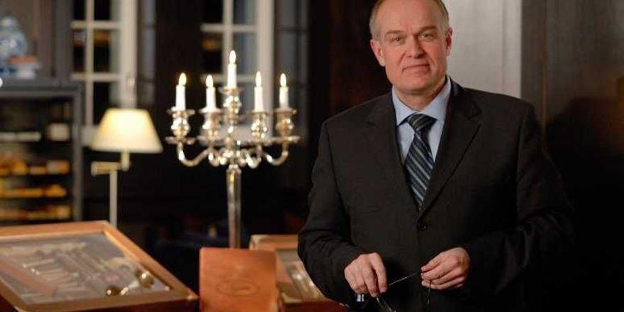 Eröffnet die Davidoff Lounge: Hoteldirektor Martin H. Kolb