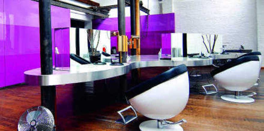 Mutiger Stilmix: Im Schneideraum können die Gäste feiern und dinieren