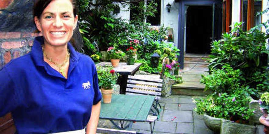 Der neue Chef ist eine Dame: Anette Ueberschaer weiß, womit man Gäste begeistern und binden kann