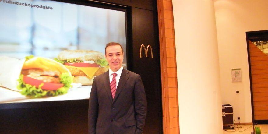 Bane Knezevic, Vorstandsvorsitzender McDonald's Deutschland