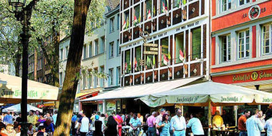 Spitzenreiter Düsseldorf: Die Kettenhotels in der Stadt freuten sich 2008 über steigende Besucherzahlen