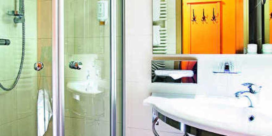 Klein, aber oho: Ein gut durchdachtes Konzept macht jedes Bad ganz groß