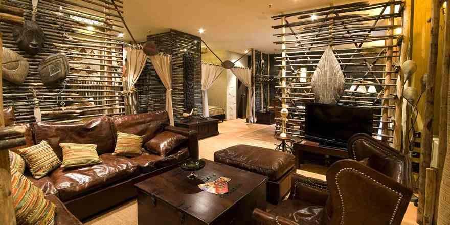 Safari-Gefühle wecken die neuen Suiten im Hotel Matamba