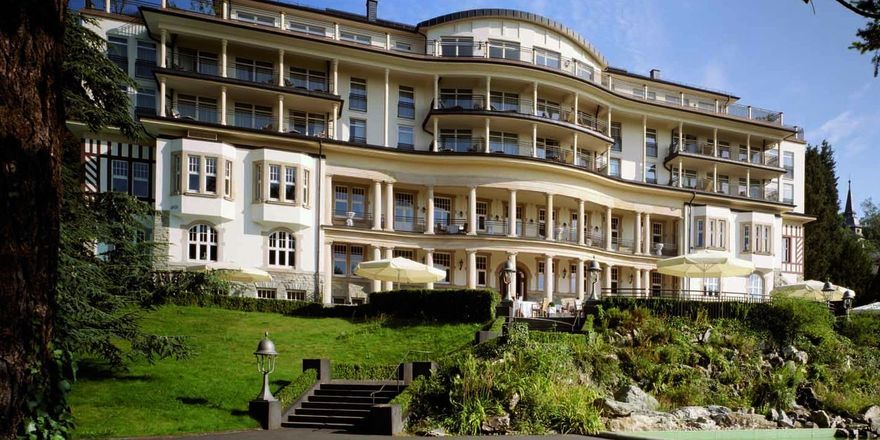Vom Offiziersheim zum Grandhotel: Das Falkenstein Grand Kempinski