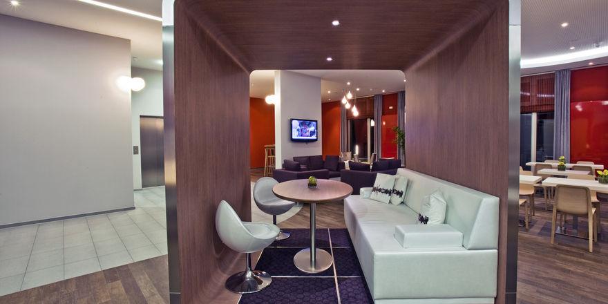 Frisches Ambiente: Das neue Adagio City Aparthotel