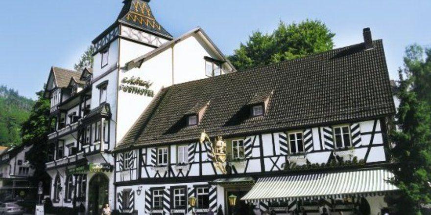 """Mönchs Posthotel: ein schmuckes Anwesen, in dem Dramatisches sich abgespielt hat.<tbs Name=""""foto"""" Content=""""*un""""/>"""