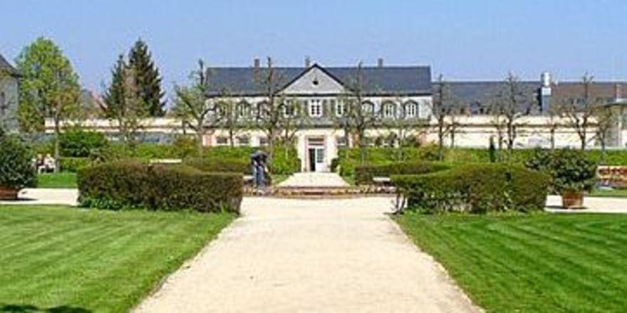 Grünes Fleckchen: Die Orangerie im Kurpark Bad Homburg