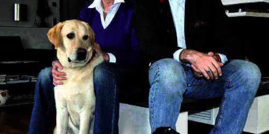 Hunde-Fans: Susanne und Rainer Frase
