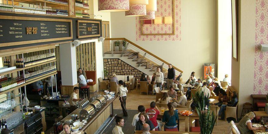 Erlebnisgastronomie: Das Alex im Waterfront Einkaufszentrum in Bremen