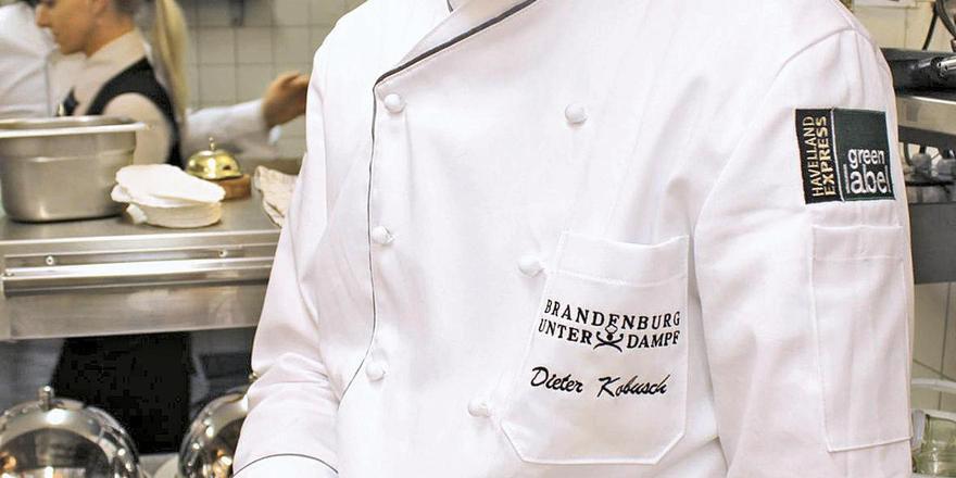 Aktiv dabei: Küchenchef Dieter Kobusch