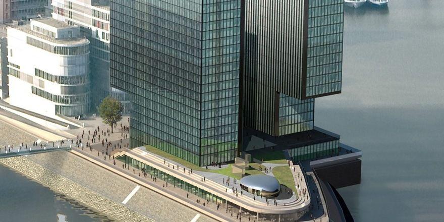 Dusseldorf Startschuss Furs Hyatt Regency Allgemeine Hotel Und