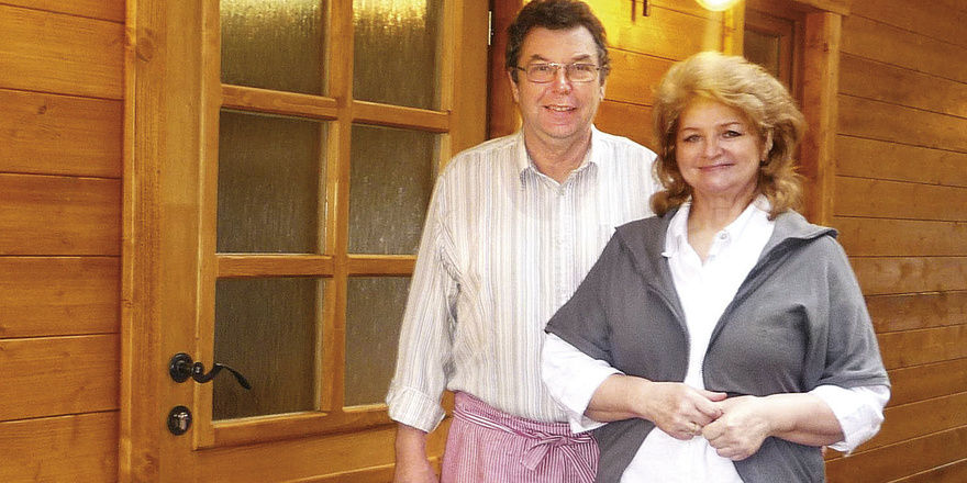 Rückkehrer: Gabriele und Rudi Metzger bewirtschaften wieder die Hornesselwiese