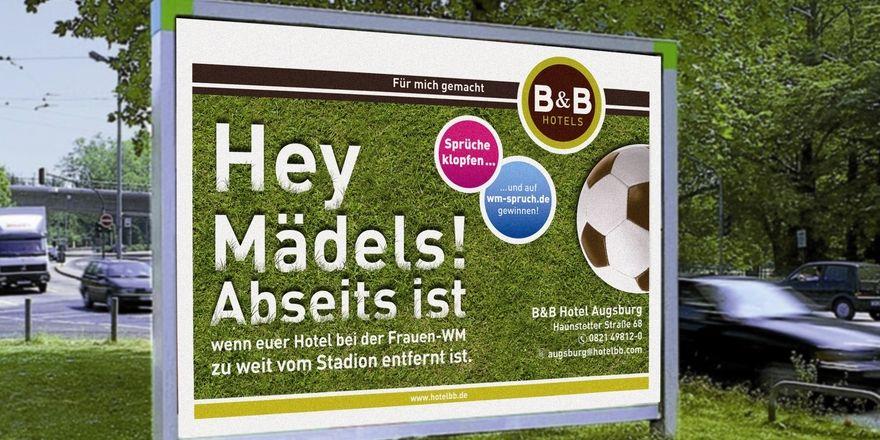 B B Nutzt Fussball Wm Der Frauen Ahgz