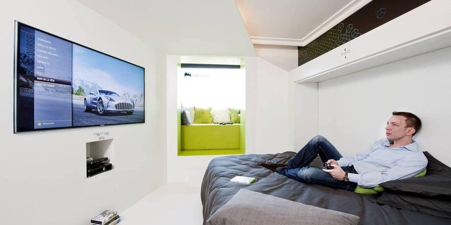 Viel Technik: Das Zimmer 3120 von Novotel