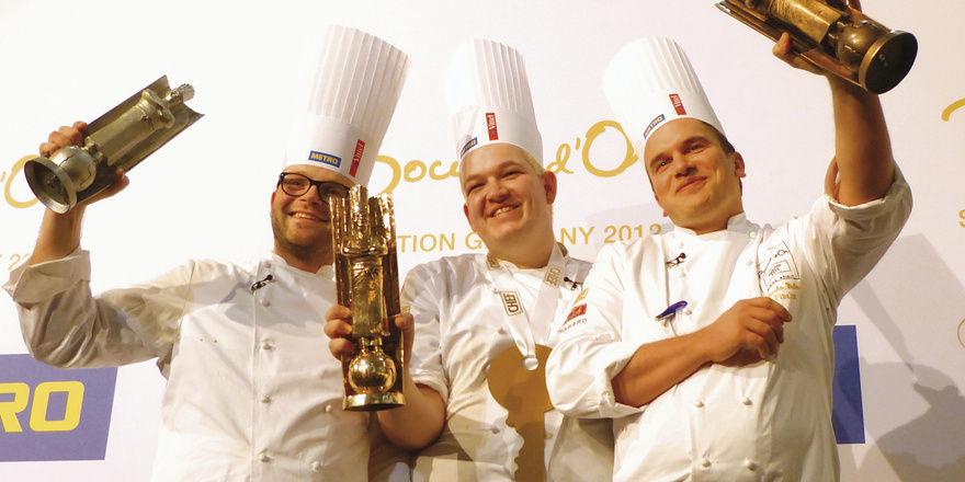 Haben geschwitzt und ihr Bestes gegeben: (von links) Oliver Röder, Johannes Goll und Sascha Wolter