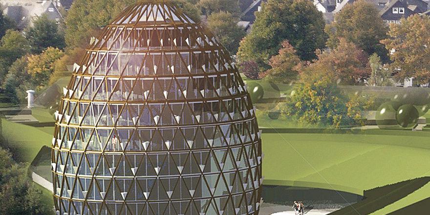Markante Architektur: Das Oversum Vital Resort