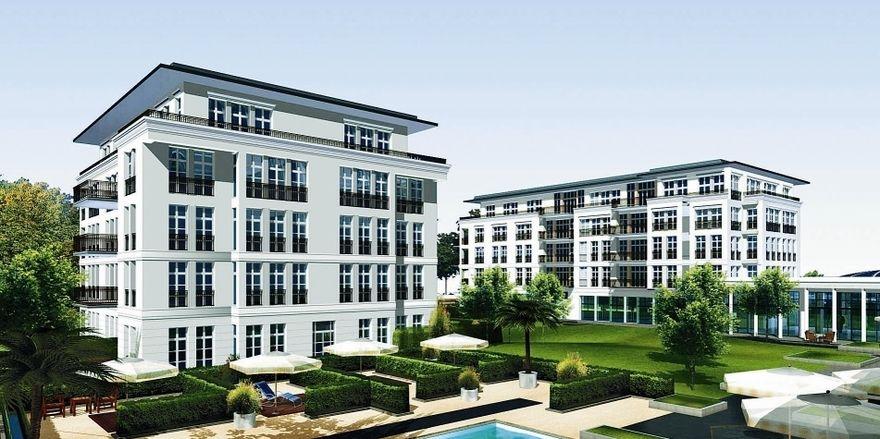Luxushotel: Das Steigenberger Grandhotel ist nicht von den Finanz-problemen der CMI AG betroffen